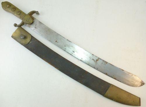 Unidentified Early Heavy Duty Short Sword Side Arm
