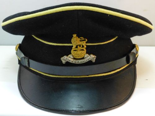 1950s British Royal Army Pay Corps Peaked Cap & Badge