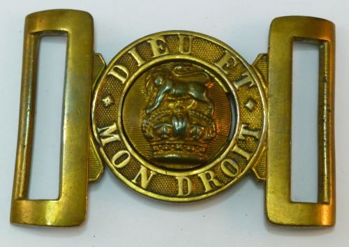 WW1 WW2 British Army Brass General Service Belt Buckle