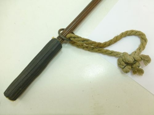 Unusual Vintage Wooden Club Made from Root