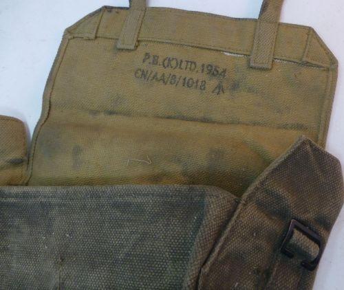 Post Ww2 British Army Medics Small Pack 1954 World War