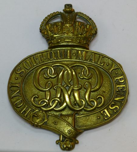 Large WW1 WW2 Grenadier Guards Valise Badge