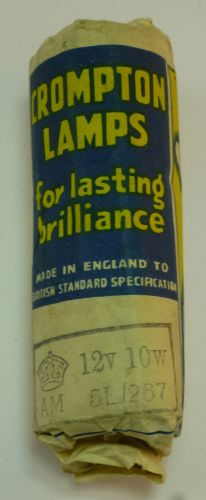 WW2 RAF AM Marked 12V 10W Light Bulb