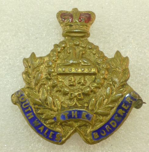 23 Victorian South Wales Borderers Sweetheart Brooch