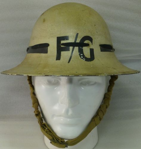 Excellent WW2 Senior Fire Guard Helmet 1941