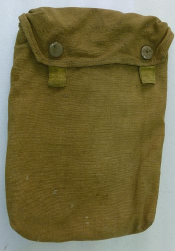 Original WW2 German Afrika Korps Gas Cape Bag