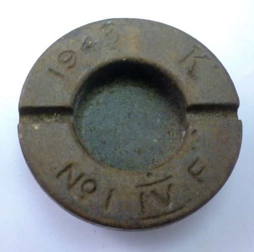 44 WW2 British Army Artillery Shell Transport Cap 1943