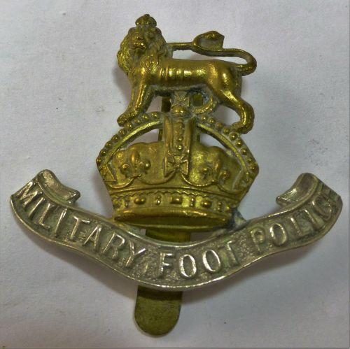 Original WW2 British Military Foot Police Cap Badge