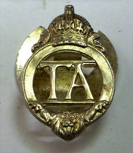 14 Pre-WW2 Territorial Army Lapel Badge