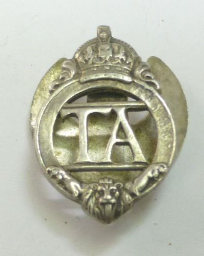 15 Original 1930s Territorial Army Lapel Badge