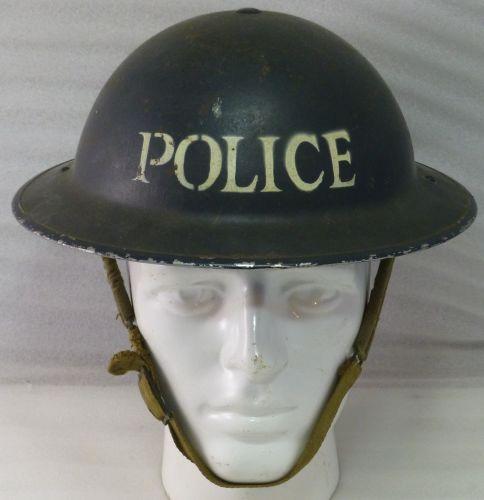 Excellent 1939 Home Front Steel Helmet Police