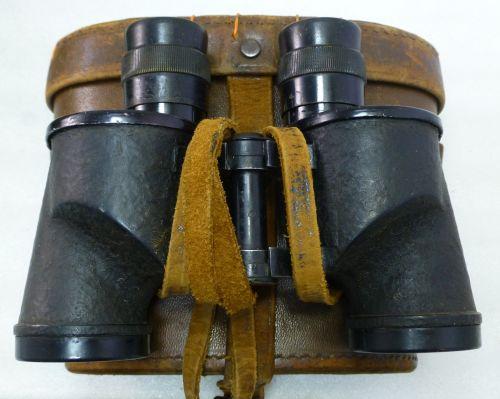 Excellent WW2 REL Canada 6X30 Binoculars 1944