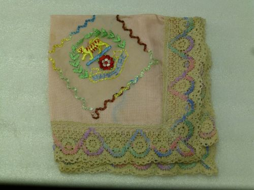 WW2 Hampshire Regiment Sweetheart Hanky