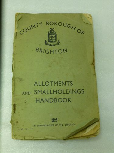 WW2 Brighton Allotments Handbook of 16 Dig For Victory Leaflets