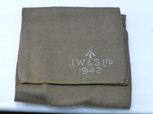 Original Wartime Commando Cap Comforter JW&S Ltd 1942