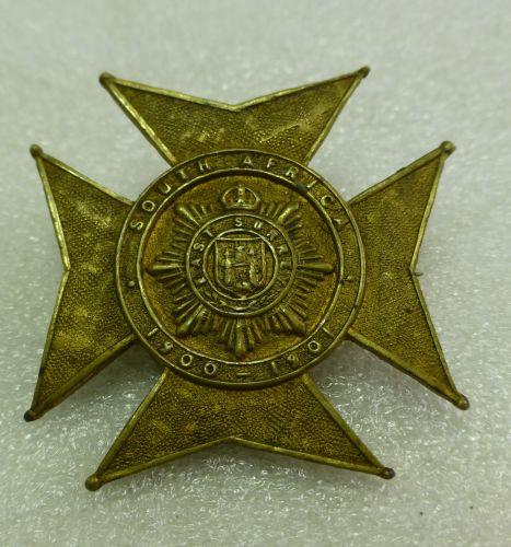 Boer War Pin Back Brooch East Surrey Pin Badge