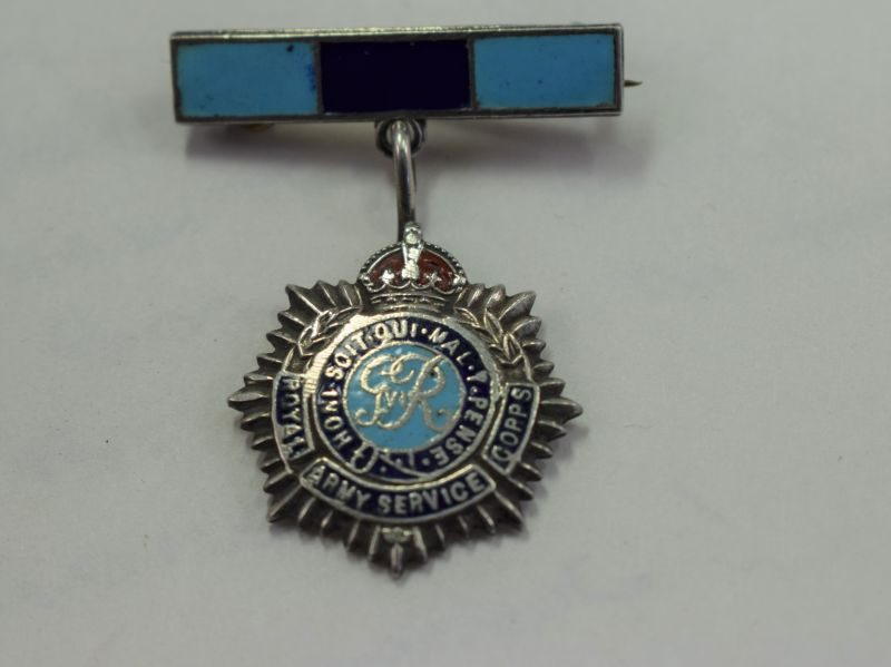 WW2 RASC pendant Brooch