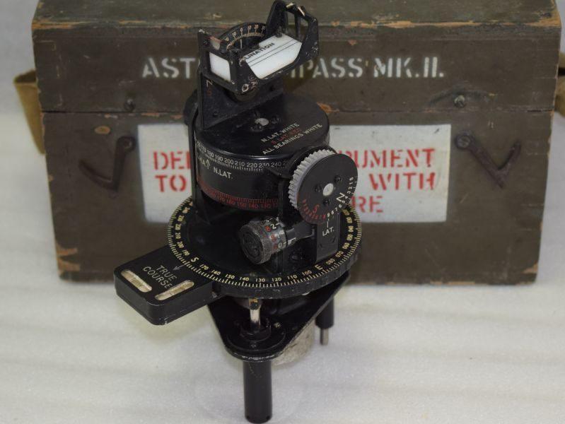 WW2 RAF Astro Compass MKII