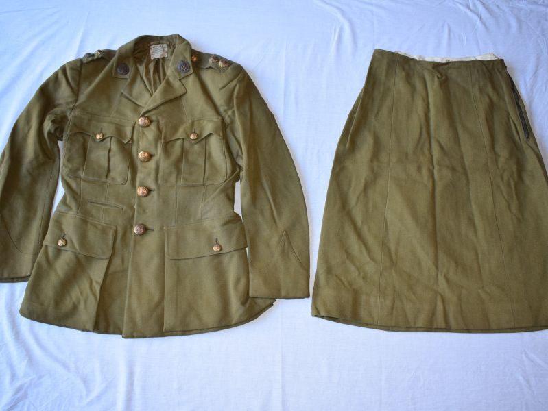 WW2 ATS Officers SD Jacket & Skirt 1941