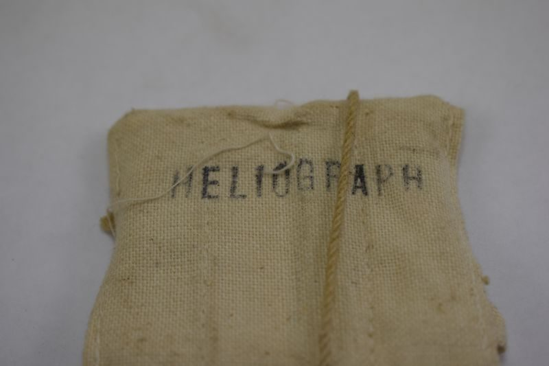 WW2 RAF Emergency Heliograph in Issue Pouch