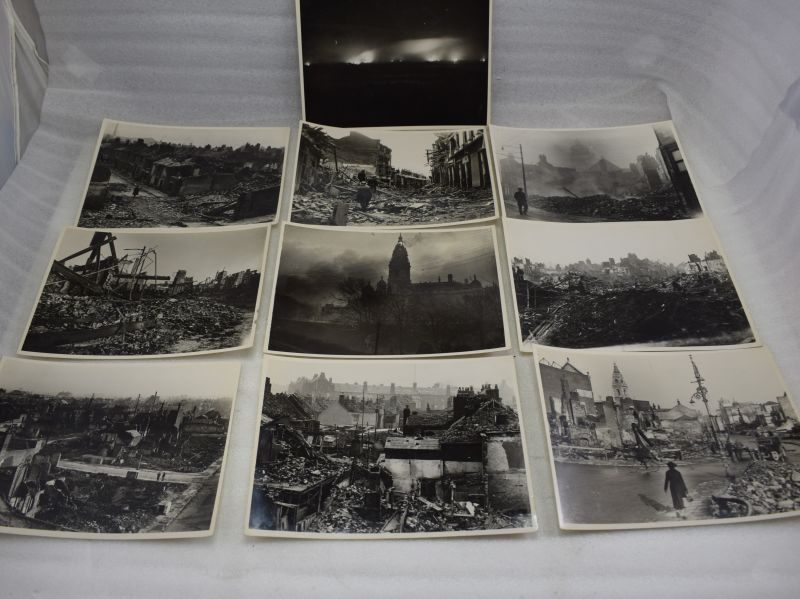 Original WW2 Photos of Bomb Damage in Portsmouth