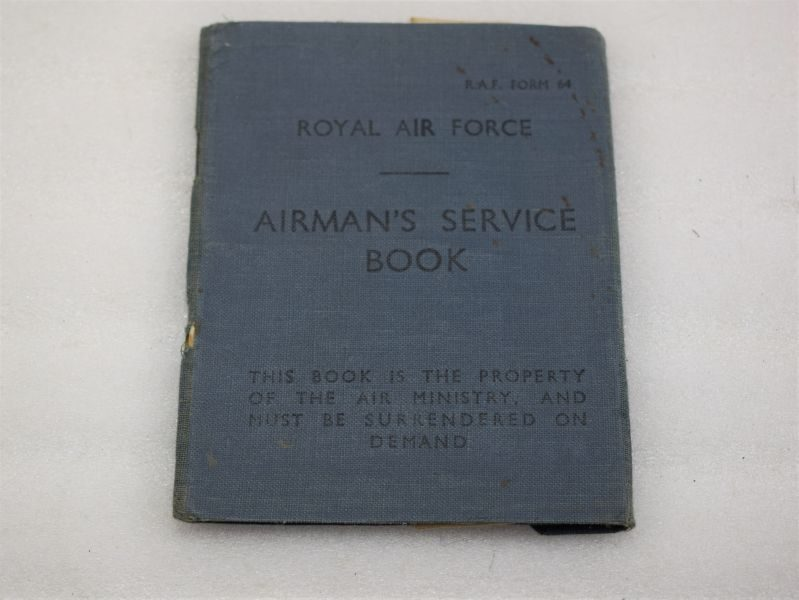 Post WW2 RAF Airman's Service Book 1951