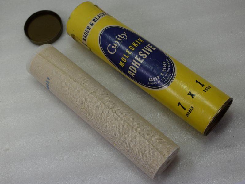 WW2 British & US Military, ARP Bauer & Black Moleskin Adhesive