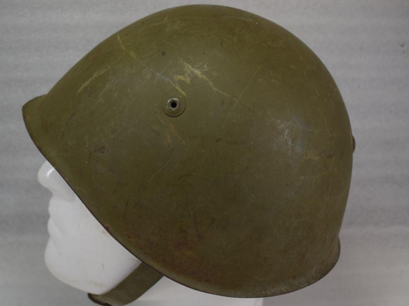WW2 Era Italian Army M1933 Pattern Steel Helmet