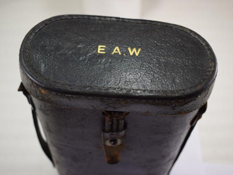 Excellent WW2 German Tall 10X50 Dienstglas by bmj maker Hensoldt, Wetzlar.