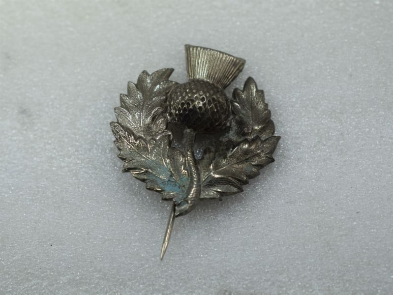 WW1 WW2 London Scottish Pin Badge, Tie Pin, Sweetheart Brooch?