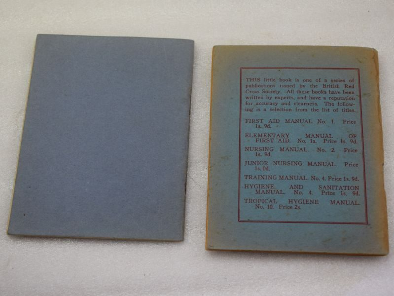 Pair of 1940 Dated Red Cross Booklets, Nursing Catechism