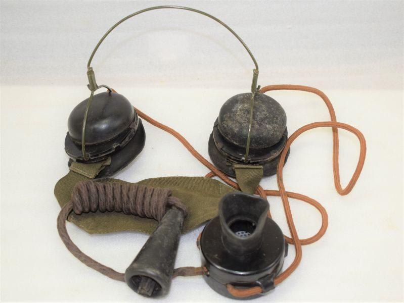 WW2 Tank Commanders Intercom Set