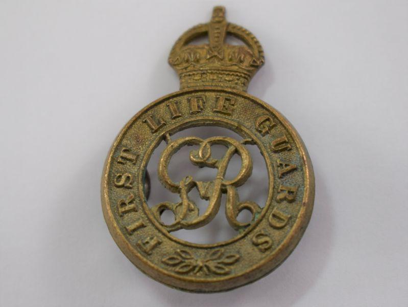 Original WW1 Cap Badge to the First Life Guards
