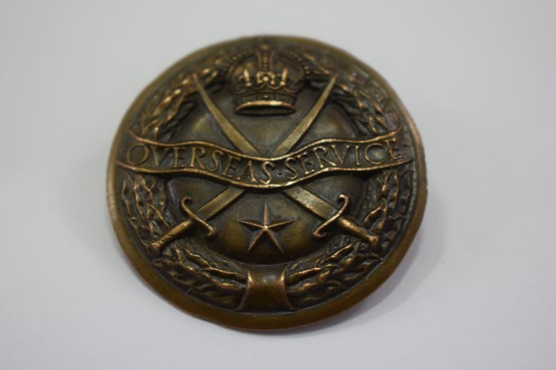 Original WW2 British Indian Army Overseas Service badge
