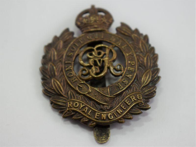 Original WW1 Royal Engineers Cap Badge