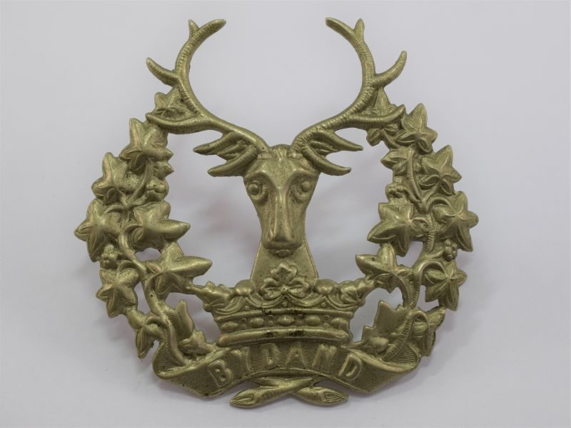 WW1 WW2 Gordon Highlanders Cap Badge