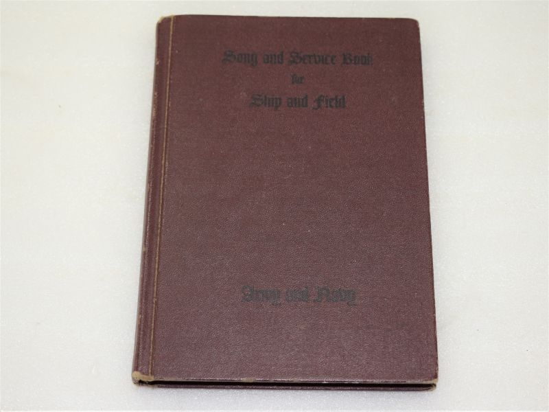 1942 US Army & Navy Issue Song & Service Book, for Ship & Field