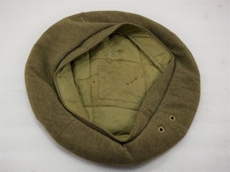 Excellent WW2 British Army General Service Cap Dated 1944