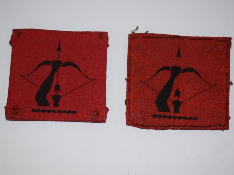 Original WW2 British Anti-Aircraft Command Cloth Badges