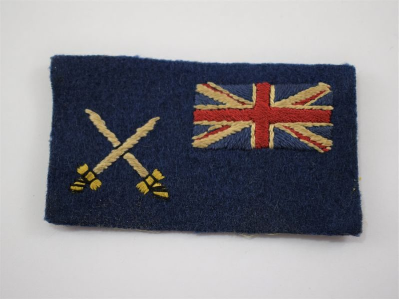 WW2 British RASC War Department Fleet Cloth Badge
