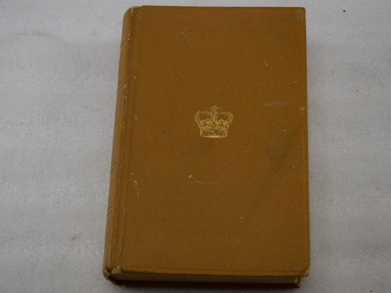 British Army Service Edition Holy Bible Dated 1958