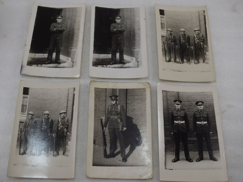 A Set of 6 Original 1930s – early WW2 Photos, all the same man