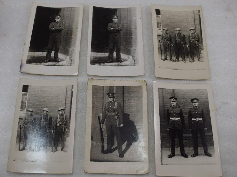 A Set of 6 Original 1930s – early WW2 Photos, all the same man