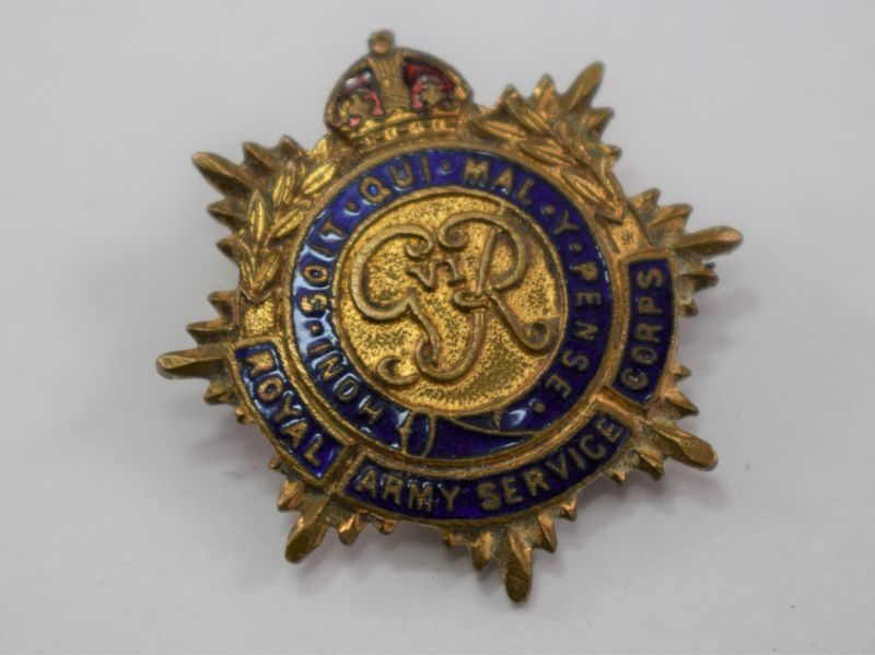 WW2 Royal Army Service Corps Sweetheart Brooch