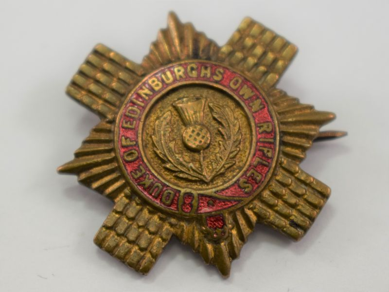 WW1 WW2 Duke of Edinburgh's Own Rifles Sweetheart Brooch