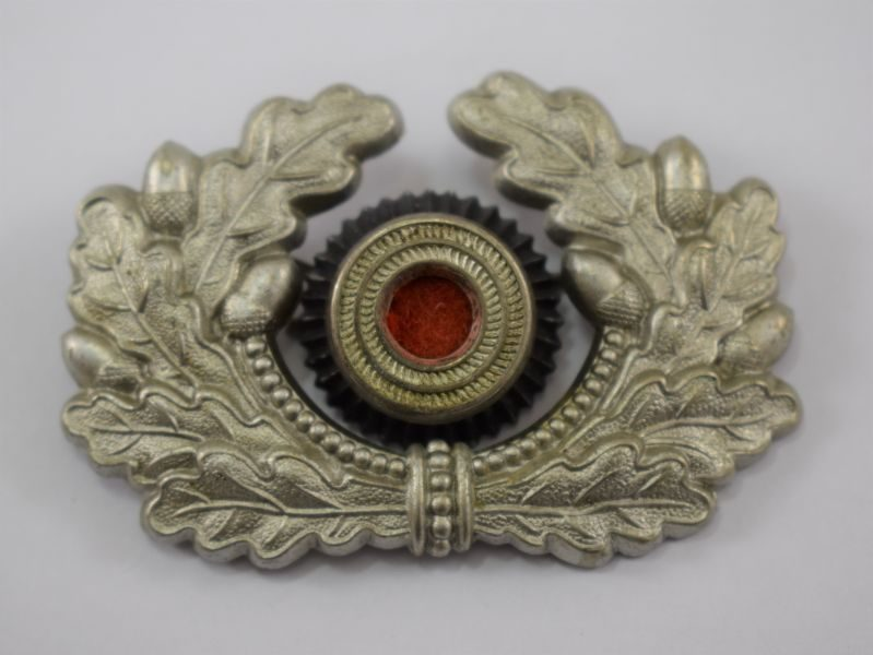Nice Original WW2 German Army Officers Cap Wreath & Cockade