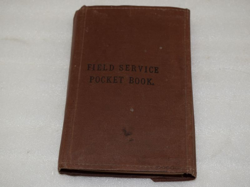 Original WW1 1st Issue Field Service Pocket Book 1914