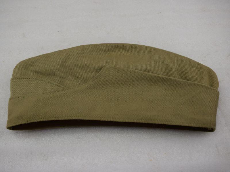 WW2 Indian Made British Army Issue Khaki Drill Field Service cap 1942