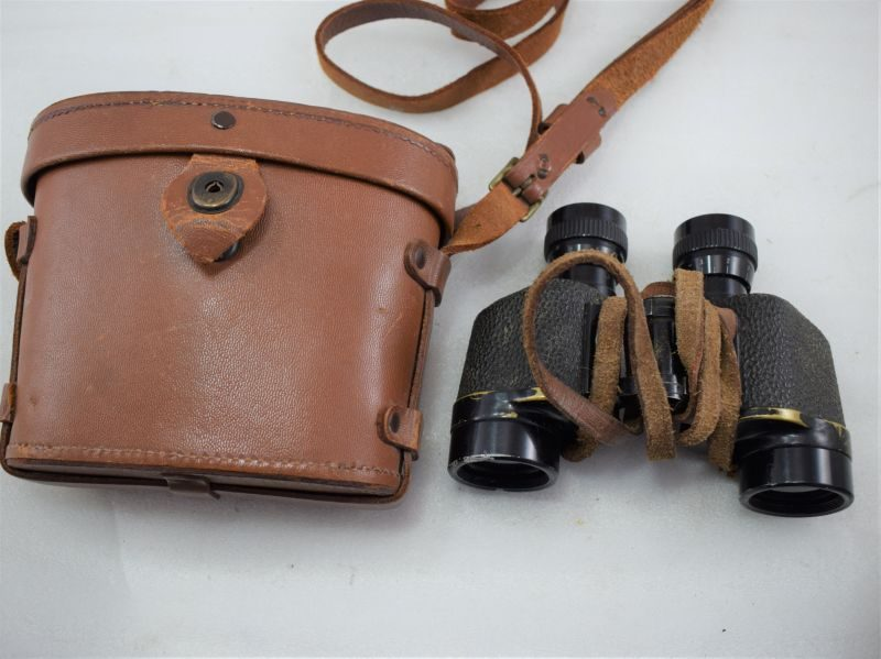 WW2 US Army Issue 6X30 Binoculars and Issue Case