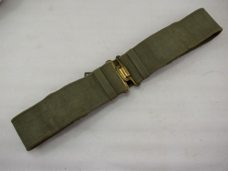 Excellent WW2 British Army 37 Pat Webbing Belt Economy Pattern MECo 1943